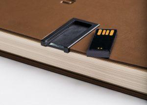 Markenwerbung Personalisiert Notizbücher mit abnehmbare USB stick für Werbung 2017