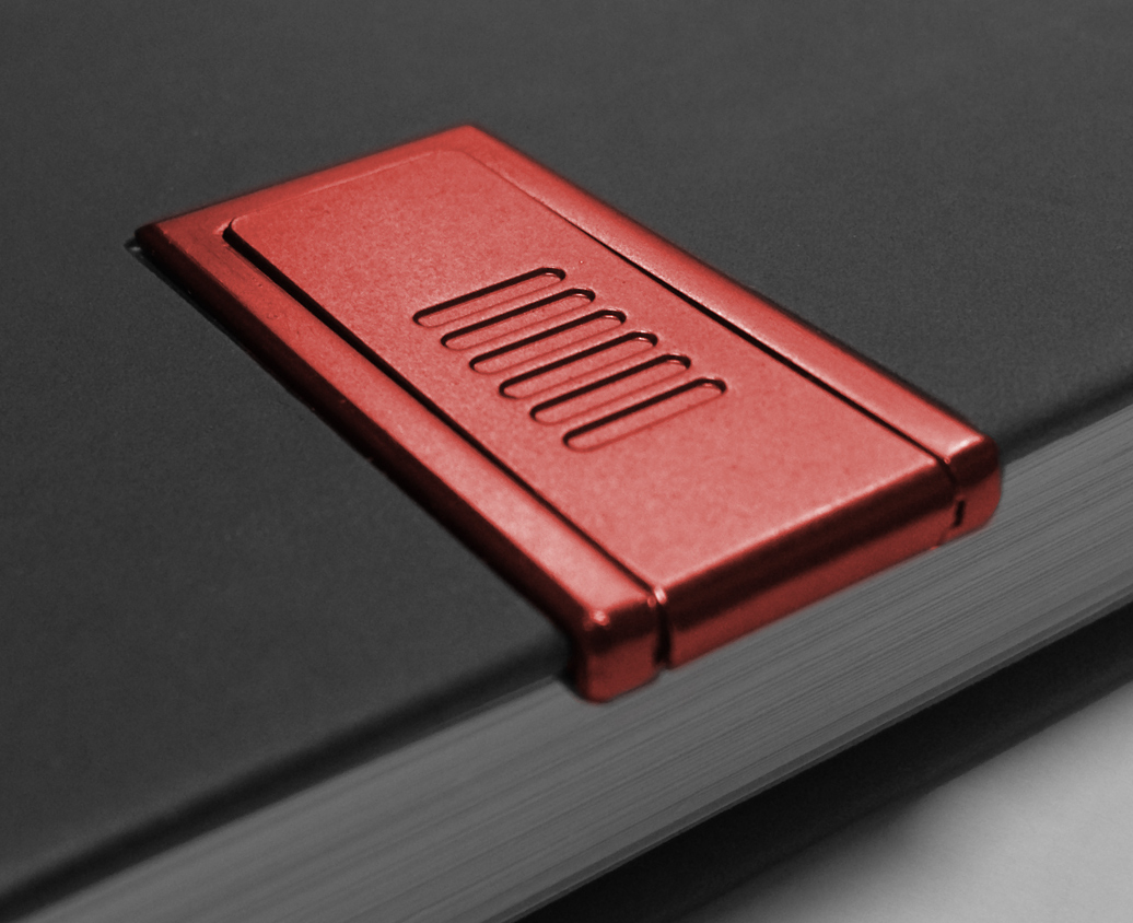 Webegeschenk Personalisiert Notizbücher mit roten USB stick für Werbung 2017