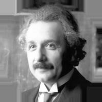 Markebwerbung-Albert Einstein- Eine wirklich gute Idee erkennt man daran, dass ihre Verwirklichung von vornherein ausgeschlossen erschien.