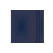 Werbegeschenk in verschiedene größen blaues Notizbuch-Myrix