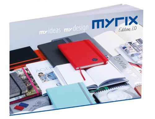 Premiere – der erste MYRIX Katalog ist da