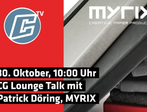 CG Lounge Talk am 30.10.2019