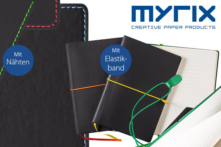 Notizbücher in modernen Farbkombinationen garantieren Werbeerfolg